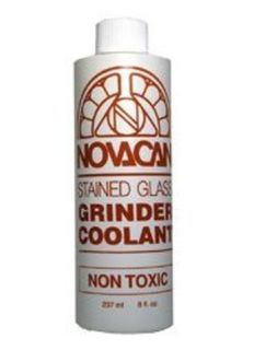 Novacan glass grinder coolant