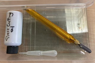 Glass cutting kit